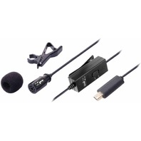 Lavalier Lapel Clip-on Microphone 20-feet Cable For Gopro Hero3 / Hero3