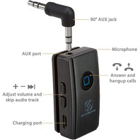 SCOSCHE BTR3 BTFREQ Clip Bluetooth Wireless Audio Receiver