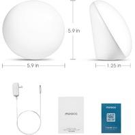 Miroco Light Therapy Lamp, UV-Free 10000 Lux 3 Adjustable Brightness Levels