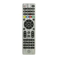GE 4 Device Universal Remote Control, Silver
