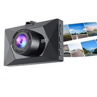 Crosstour Dash Cam 1080p Fhd Mini In Car Dashboard Camera