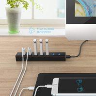 ORICO Super Speed USB 3.0 7 Port Hub - Black