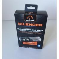 Walker's Silencer Bluetooth Digital Earbuds, NRR23db, Voice Prompts