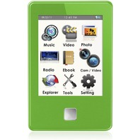 "Ematic E8 3"" Inch Touch Screen Color 4GB MP3 Video Player & 5 MP Camera W/ Flash"