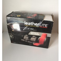 Fia Sl69-2 Blk/Blk Custom Fit Front Seat Cover Bench Seat - Leatherette - Black