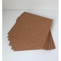Quartet Cork Tiles, Natural, 12 Inch X 12 Inch, Frameless, 6 Pack