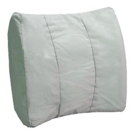 Bilt-Rite Mastex Health Lumbar Cushion Pillow, Grey