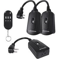 Dewenwils Outdoor Indoor Wireless Remote Control Outlet Kit - Waterproof