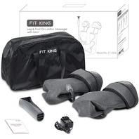 FIT KING Leg & Foot Air Massager with Knee Warmer Circulation Massage