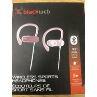 Blackweb Wireless Sport Earbuds - Rose Gold