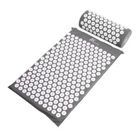 Prosource Acupressure Mat And Pillow  Back/Neck Pain Relief / Muscle Relaxation