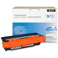Elite Image ELI75565 Compatible Toner Replaces HP CE250A (504A), Black