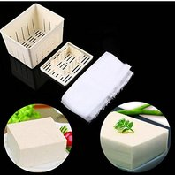 Tofu Maker Press Mould Kit   Cheese Cloth Soy DIY - Mangocore