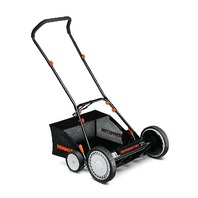 Remington 15a-3100783 Mulch & Rear Bag Reel Lawn Mower, Black