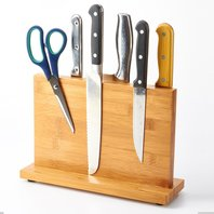 Magnetic Knife Block - Bamboo