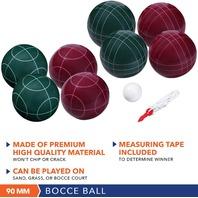 Bocce Ball Set Classic 90mm & Premium 100mm Options