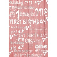 Happy Birthday  Material Backdrop 3x5ft Prop Baby
