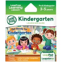Leapfrog Learning Game: Get Ready For Kindergarten (
