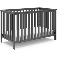Storkcraft Rosland 3 in 1 Convertible Crib Gray