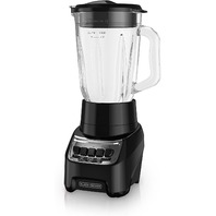 Black Decker Powercrush Multi-Function Blender With 6-Cup Glass Jar, Black
