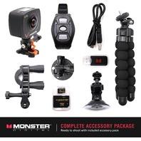 Monster Vision Virtual Reality Camera - Dual Lenses [CAMVR-0360-A]