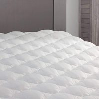 "Extra Plush Bamboo Top Mattress Pad, RV Short King SIZE - 76"" x 80"""