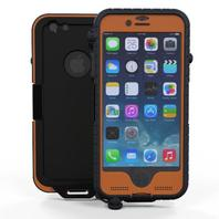 Snow Lizard Products Sltough Case For iPhone 6 Signal Orange