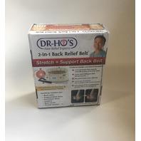 """DR-Ho's 2-in-1 Back Relief Belt - Beige(25""""-41"""")"""
