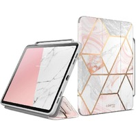 I-Blason Case For iPad Pro 12.9 Inch 2018 Release, [Cosmo] Full-Body Trifold Stand Protective Case Cover With Auto Sleep/Wake & Pencil Holde, Marble, 12.9""