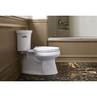 Kohler Cachet Quiet-Close™ with Grip-Tight Elongated Toilet Seat, White