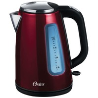 Oster Bvstkt665r-033 1.7l Stainless Steel Kettle, Candy Apple Red