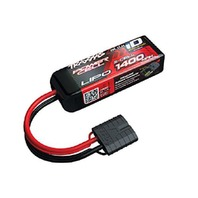 Traxxas 11.1v 1400mah LiPo Battery ID Plug 25C 2020-07-1– untested