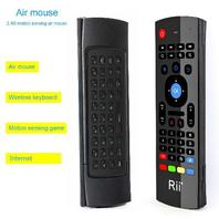 Rii MX3 Multifunction 2.4G Air Mouse Mini Wireless Keyboard & Infrared Remote