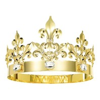 DcZeRong Adult Men Women Queen Crown King Crown Birthday Prom King Crown Queen