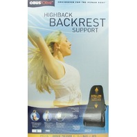 Obusforme By Homedics Ofhb-Blk Highback Backrest Support