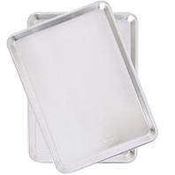 Nordicware Natural Aluminum Commercial Baker's Half Sheet (2 Pack), Silver