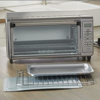 Black Decker 8-Slice Digital Extra Wide Convection Countertop Toaster Oven