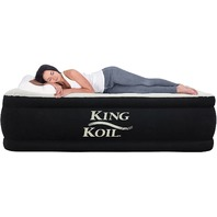 Queen - King Koil Air Mattress With Built-In Pump