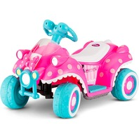 Disney Minnie Mouse 6v Toddler Quad Electric Ride On, Pink