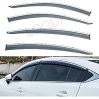 4pcs Pvc Sun Rain Guard, Vent Shade, Window Visors Fit 14-18 Mazda 6 Atenza