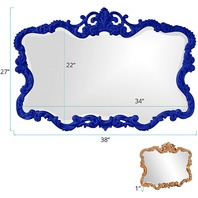 Howard Elliott Collection 21183RB Talida Mirror, Royal Blue
