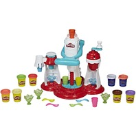 Play-Doh E1935 Kitchen Creations Ultimate Swirl Ice Cream Maker Play Food Set