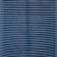 Stone & Beam Leland Modern Textured Ceramic Table Desk Lamp 10 X 17 Inches, Blue