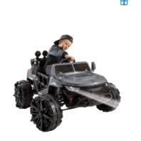 Huffy 17138 Special Ops Kids Ride On Toy, MP3-Compatible, 12v, Gray