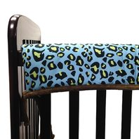 One Grace Place Jazzie Jungle Boy-Crib Bumper/Rail Cover