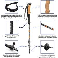 Cascade Mountain Aluminum Quick Lock Cork - 2pk