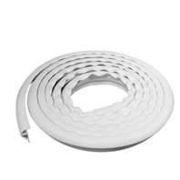 Dimex, LLC EasyFlex Plastic P-Profile Dock Edging, 25-Feet, White