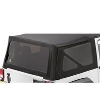 Bestop Black Diamond Tinted Window Kit, 07-10 Wrangler Jk 2-Door