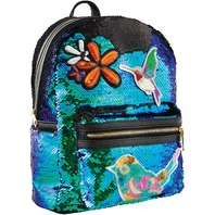 Style.lab Style. Lab Fashion Angels Magic Sequin Mini Backpack Patches, Mermaid