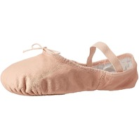 Bloch Women's Dance Dansoft Ii Leather Split Sole Ballet Shoe/Slipper, Pink, 6.5 Wide